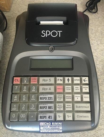 Registratore cassa Spot USATO