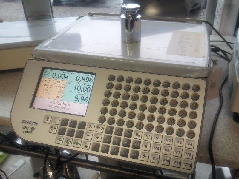 Etichettatrice Zenith 5000 -Km0-