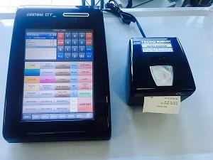 Pc pos QT10 con misuratore fiscale Q3F-Usato