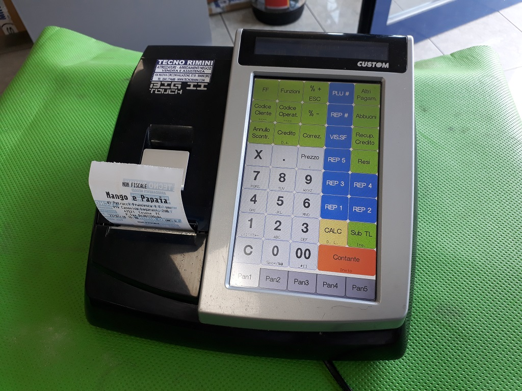 Registratore cassa Custom -Usato-